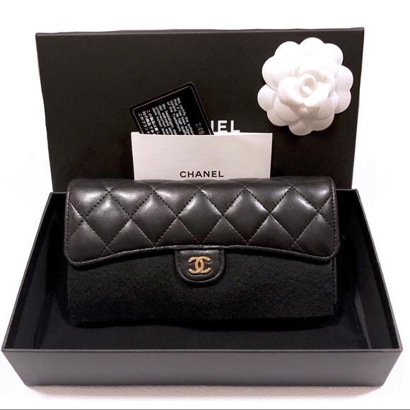e4c150f6f0aea3 CHANEL Bags   Authentic Classic Flap Long Wallet   Poshmark